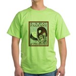 Pigeon Pageant1 Green T-Shirt