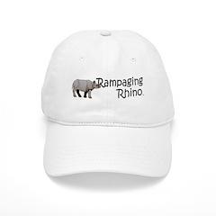 Rampaging Rhino Baseball Cap