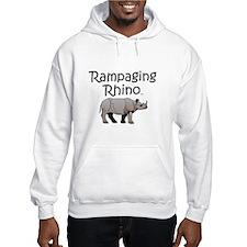 Rampaging Rhino Hoodie