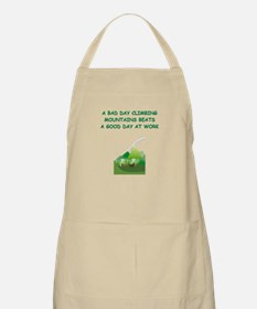 mountaineer gifts t-shirts BBQ Apron