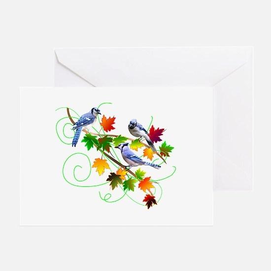 Blue Jays Greeting Card