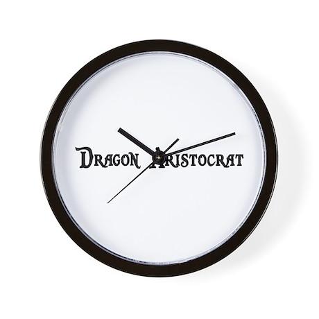 Dragon Aristocrat Wall Clock
