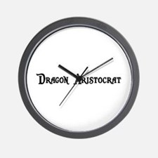 Dragon Aristocrat Wall Clock