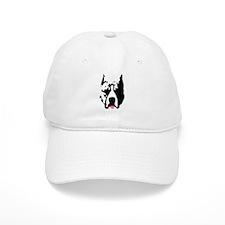 Pit Bull with Lipstick Baseball Cap