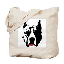 Pit Bull with Lipstick Tote Bag