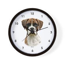 Boxer puppy 9Y049D-044 Wall Clock