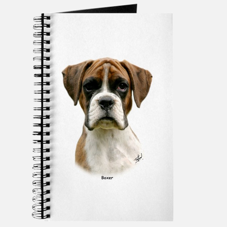 Boxer puppy 9Y049D-044 Journal