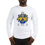 Greco Family Crest Long Sleeve T-Shirt