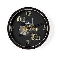 Old Tin Wall Clock