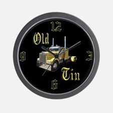Old Tin Wall Clock