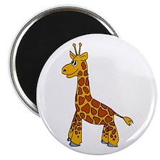 """Happy Giraffe 2.25"""" Magnet (10 pack)"""