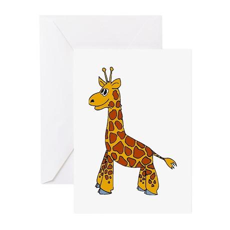 Happy Giraffe Greeting Cards (Pk of 10)