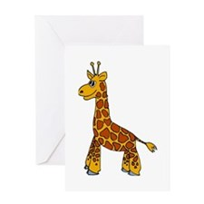 Happy Giraffe Greeting Card