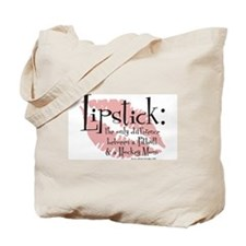 Palin Pitbull Lipstick Tote Bag