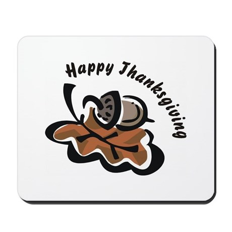 Happy Thanksgiving Mousepad