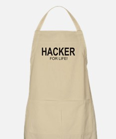 Hacker For Life BBQ Apron