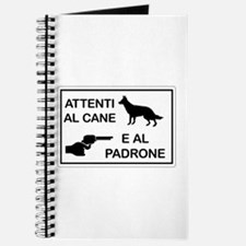 Beware the Dog and the Master Journal