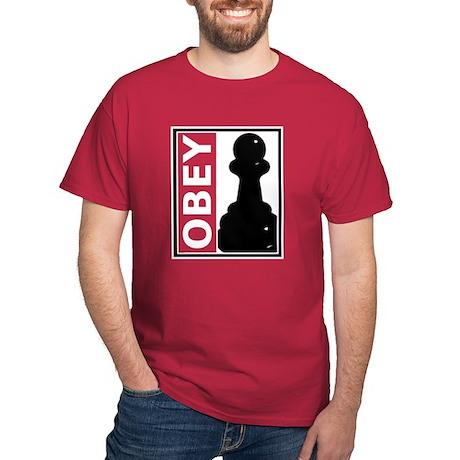 OBEY. Like a pawn. Dark T-Shirt