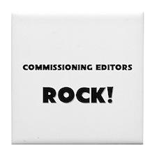 Commissioning Editors ROCK Tile Coaster