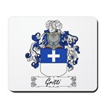 Gritti Family Crest Mousepad