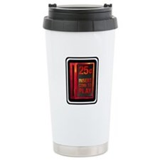 INSERT COIN TO PLAY Travel Mug
