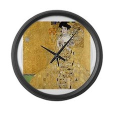 Adele Bloch-Bauer I Large Wall Clock