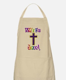 BBQ'n For Jesus BBQ Apron