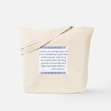Schweitzer Tote Bag