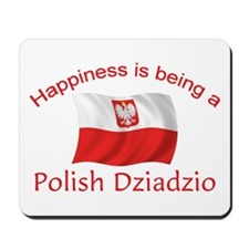Happy Polish Dziadzio Mousepad