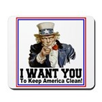 To Keep America Clean Mousepad