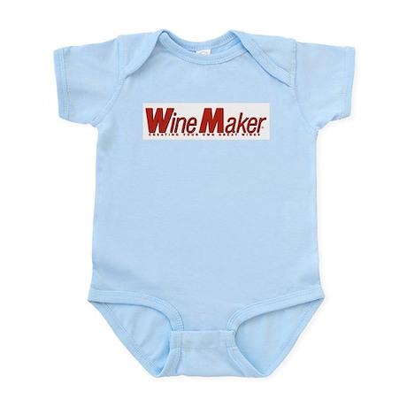 WineMaker logo WineWear Infant Creeper