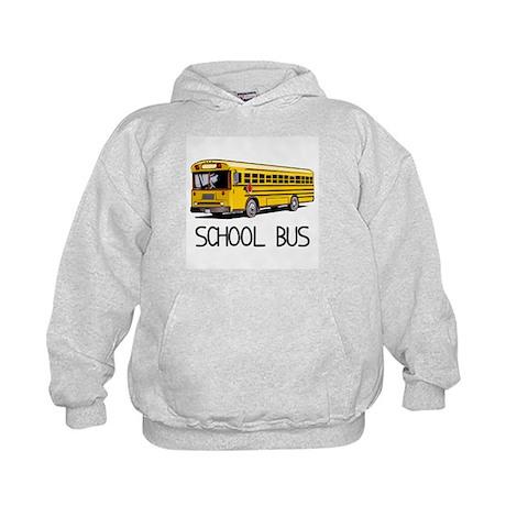 School Bus Kids Hoodie