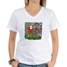Santa's Helper Doberman Shirt
