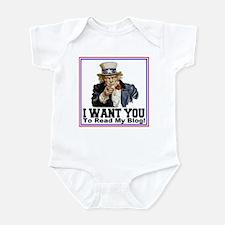 To Read My Blog Infant Bodysuit