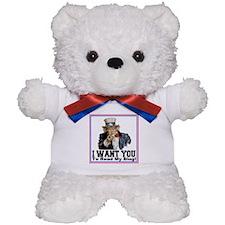 To Read My Blog Teddy Bear