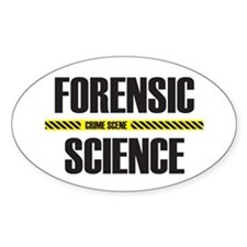 Crime Scene Oval Decal
