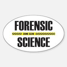Crime Scene Oval Decal