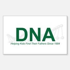 Helping Kids Rectangle Decal