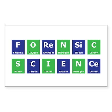 Periodic Table Rectangle Sticker