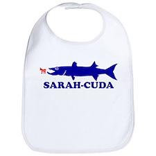 SARAH PALIN BARRACUDA BUMPER STICKER SHIRT SARAH-C