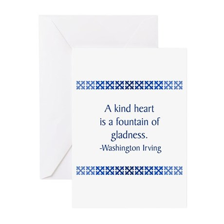 Irving Greeting Cards (Pk of 10)
