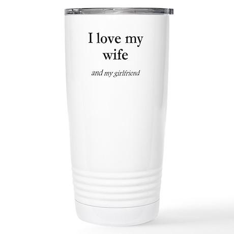 Wife/my girlfriend Stainless Steel Travel Mug