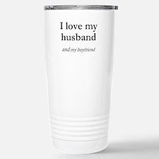Husband/my boyfriend Travel Mug