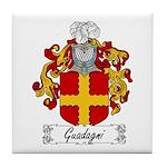 Guadagni Family Crest Tile Coaster