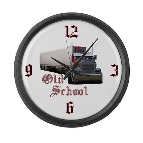 Old School Large Wall Clock