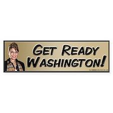 Get Ready Washington! Bumper Bumper Sticker
