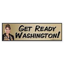 Get Ready Washington! Bumper Sticker (10 pk)