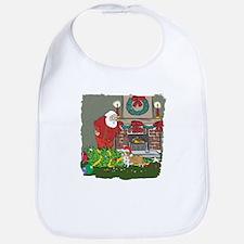 Santa's Helper Welsh Corgi Bib