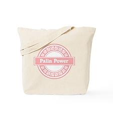 Palin Power (Pink) Tote Bag