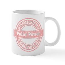 Palin Power (Faded Pink) Mug
